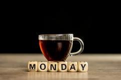 È concetto di lunedì Immagine Stock