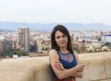 È fresco sulla cima di Valencia Fotografia Stock Libera da Diritti