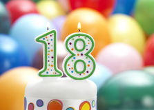 È il mio diciottesimo compleanno Fotografia Stock