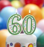 È il mio sessantesimo compleanno Fotografia Stock Libera da Diritti