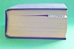 È libro con storia della parola Fotografie Stock Libere da Diritti