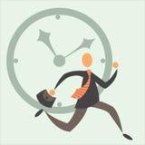 È necessario da sorpassare il tempo Immagine Stock