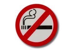 Non zona fumatori Fotografia Stock Libera da Diritti