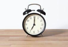 È orologio del ` di sette o Fotografie Stock Libere da Diritti
