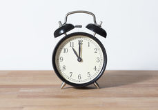 È orologio del ` di undici o Fotografia Stock Libera da Diritti