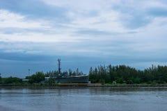 È protezione della riva, canta il mare tailandese, Immagini Stock Libere da Diritti