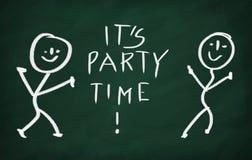È tempo del partito! Fotografia Stock