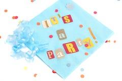 È un partito! Fotografia Stock