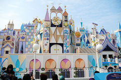 È un piccolo mondo Hong Kong Disney Immagine Stock