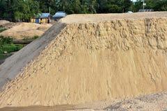 È una pila della sabbia immagini stock libere da diritti