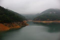 Bacino idrico del Tai Tam, Hong Kong Fotografie Stock Libere da Diritti