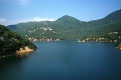 Bacino idrico del Tai Tam, Hong Kong Fotografia Stock Libera da Diritti