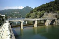 Bacino idrico del Tai Tam, Hong Kong Immagine Stock