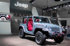 10ème édition 2013 d'anniversaire de Jeep Wrangler Rubicon Photos stock