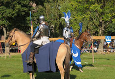 16ème Édition de célébration médiévale en Abbey de Forest Images libres de droits