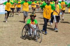 13ème édition de la grande course éthiopienne Photographie stock libre de droits