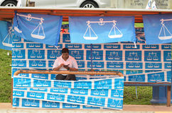 13ème Élection générale malaisienne Photographie stock
