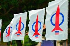 13ème Élection générale malaisienne Photo libre de droits