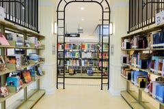 3ème étage d'intérieur de bibliothèque municipale de Bangkok Images libres de droits