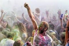 3ème événement de jour de couleurs à Salonique Grèce Photographie stock libre de droits