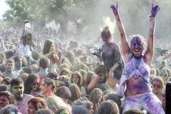 3ème événement de jour de couleurs à Salonique Grèce Image stock