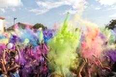 3ème événement de jour de couleurs à Salonique Grèce Photographie stock