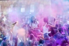 3ème événement de jour de couleurs à Salonique Grèce Image libre de droits
