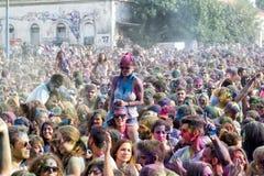 3ème événement de jour de couleurs à Salonique Grèce Photo libre de droits