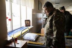 3ème anniversaire de création de garde nationale de l'Ukraine Image libre de droits