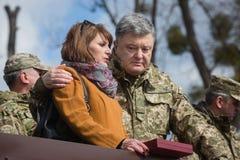 3ème anniversaire de création de garde nationale de l'Ukraine Photos libres de droits