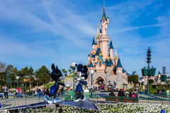 25ème anniversaire de Disneyland Paris Photographie stock