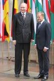 20ème anniversaire de l'effondrement du communisme en Europe centrale Photos libres de droits