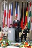 20ème anniversaire de l'effondrement du communisme en Europe centrale Photos stock