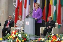 20ème anniversaire de l'effondrement du communisme en Europe centrale Image stock