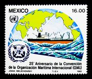 25ème anniversaire de la convention de l'International maritime Photographie stock