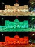 25ème anniversaire de la défense de la liberté de la Lithuanie Photo stock
