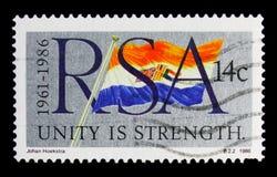 25ème anniversaire de la République, serie, vers 1986 Image stock