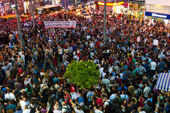 20ème anniversaire du massacre de Sivas Images libres de droits