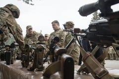 25ème anniversaire du service de sécurité de l'Ukraine Photos libres de droits