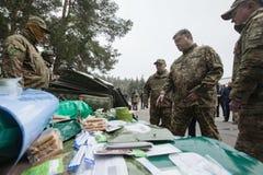 25ème anniversaire du service de sécurité de l'Ukraine Photographie stock libre de droits