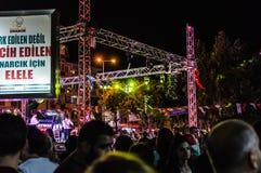 30ème August Turkish Victory Day Concert Image libre de droits