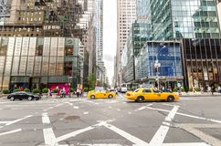 5ème avenue Images libres de droits