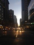 6ème avenue - avenue des Amériques Image stock