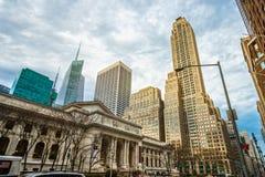 5ème avenue, New York, Etats-Unis Image libre de droits