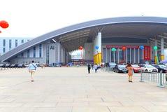 3ème bâtiment d'expo de l'investissement porcelaine-PECO et du commerce à Ningbo, porcelaine Photo stock