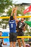 27ème championnat asiatique du sud-est de volleyball de plage. Photographie stock