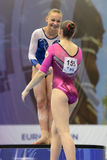 5ème Championnats européens en gymnastique artistique Photographie stock libre de droits