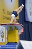 5ème Championnats européens en gymnastique artistique Photo libre de droits