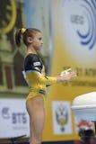 5ème Championnats européens en gymnastique artistique Images libres de droits