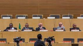 10ème Conférence Internationale sur les TCI pour le développement, éducation Photographie stock libre de droits